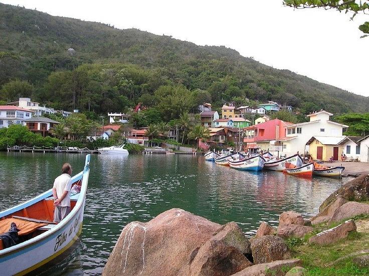 Barra de Lagoa, Florianopolis, Brasil