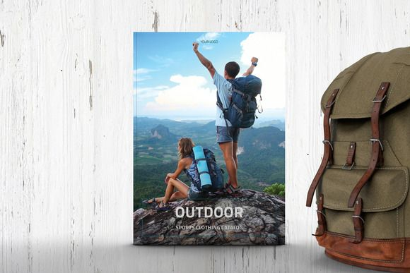 Outdoor - Clothing Product Catalogue by Leone Danieli on @creativemarket