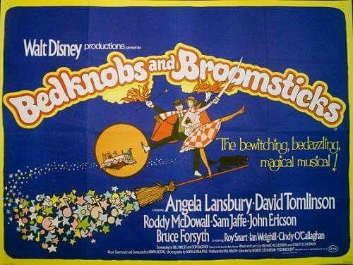 Bedknobs and Broomsticks (1971) Angela Lansbury, David Tomlinson, Roddy McDowell