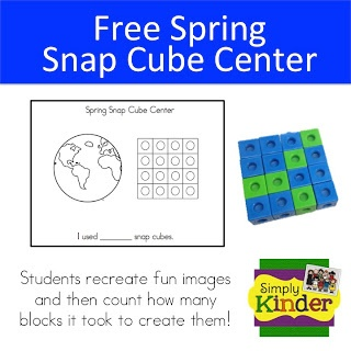 Earth Day for Kindergarten {Free Earth Day Activity} from Simply Kinder
