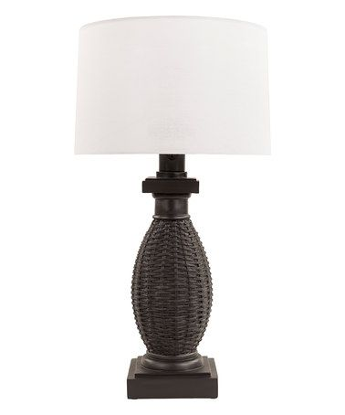 This White Amani Outdoor Table Lamp is perfect! #zulilyfinds