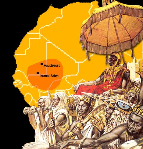 The three great empires, Ghana and Mali-Songhai