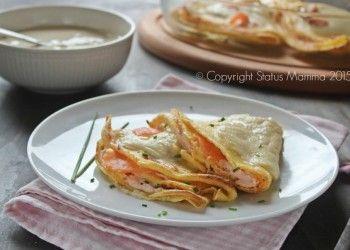 crepes ricetta pastella salmone affumicato primo secondo facile per le feste pasqua Natale capodanno occasioni speciali di pesce facile Statusmamma Giallozafferano