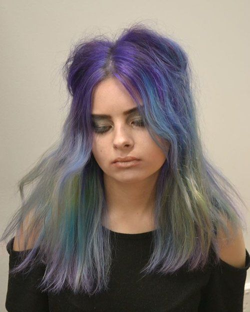 Gypsys and Fairys were the inspiration for today's Lust look 💙  #lusthairnz #pastelhair #fairyhair