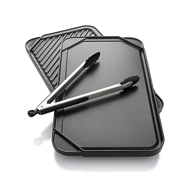Shop for griddles and grill pans at Crate and Barrel. Browse griddle pans from top brands including Le Creuset, All-Clad, Lodge and Calphalon. Order online.