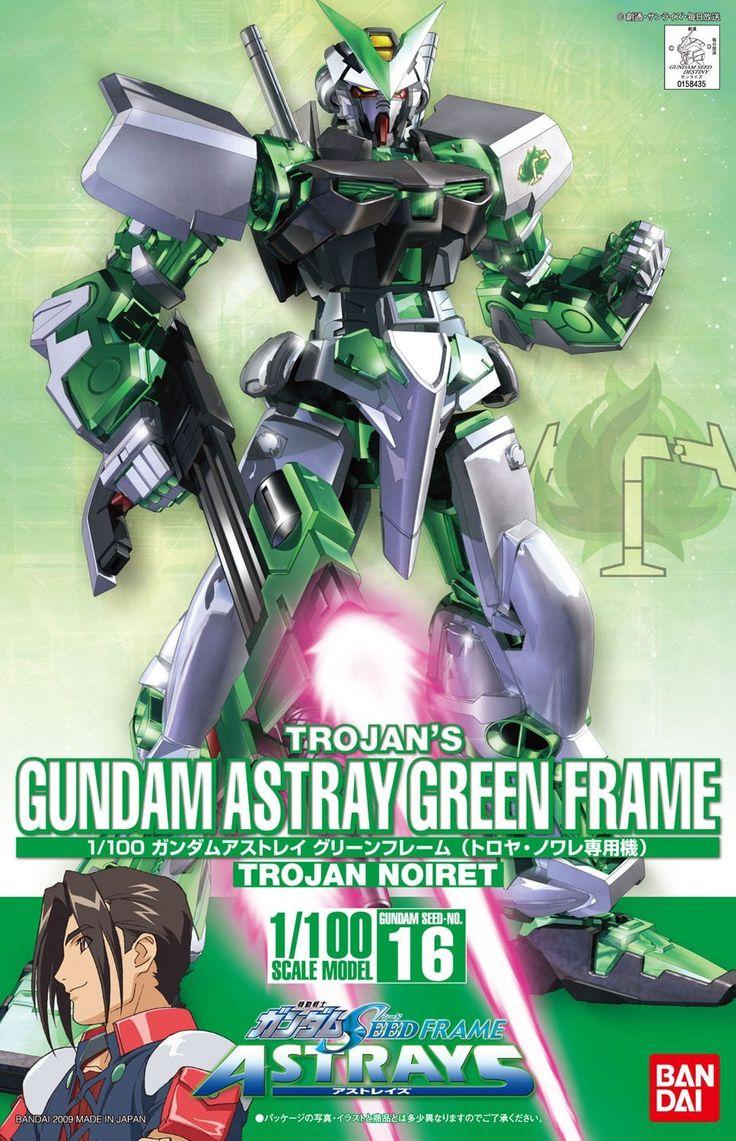Trogan's Gundam Astray Green Frame 1/100,  Gundam Seed