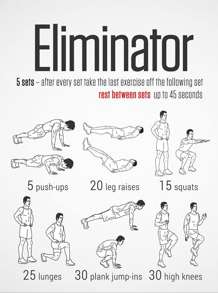 32 best free weight workouts images on pinterest
