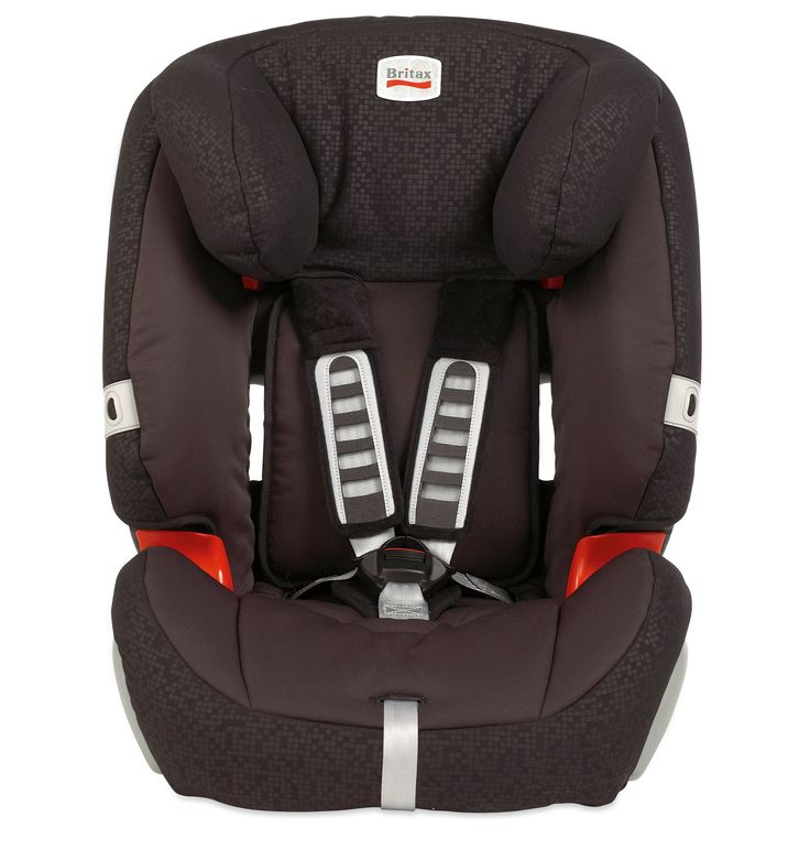 Britax Evolva 1-2-3 High Back Booster Car Seat with Harness - Black