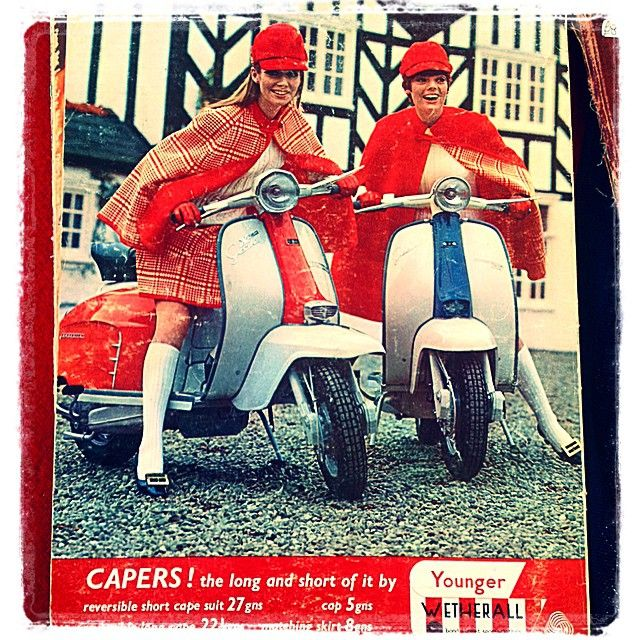 """1960s Modettes @somebodyandsons #Mod #British #Lambretta"" Photo taken by @somebodyandsons on Instagram, pinned via the InstaPin iOS App! http://www.instapinapp.com (03/20/2015)"