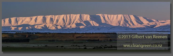 Last Light Mt St Bathans