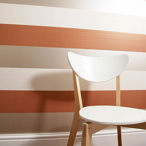Graham & Brown Burnt orange Figaro wallpaper- at Debenhams.com