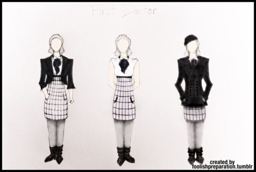 Notes on Psychic Paper | DW Fashion Line: All Coloured!