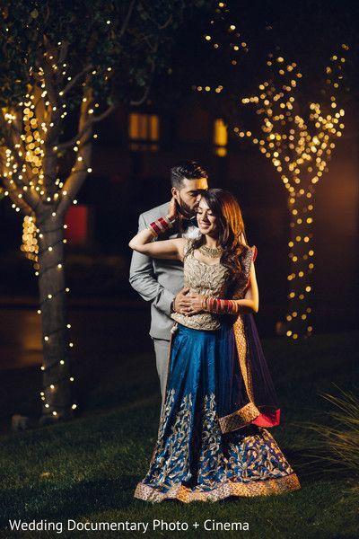 indian wedding reception portraits