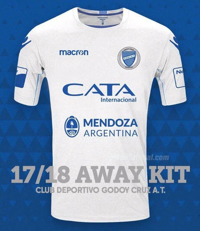 Godoy Cruz Camiseta suplente Superliga Argentina 2017   2018 ... 3a44035d42dbe