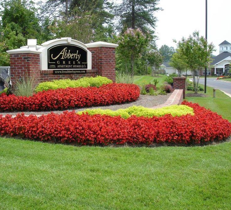 Best Commercial Landscape Design Commercial Landscape: 8 Best Spring Annual Flower Beds Images On Pinterest
