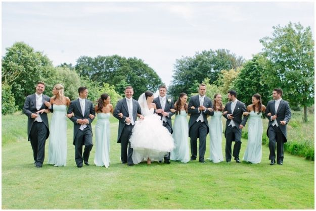 Parley Manor Wedding bridal party www.camillaarnholdphotography.com