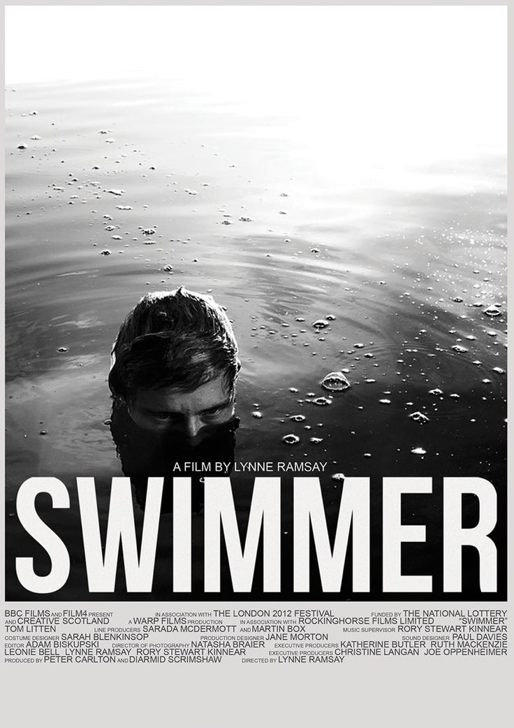 Lynne Ramsay - Swimmer, 2012: Movie Posters, Swimmers 2012, Film Design, 2012 Dvdrip, Lynn Ramsay, Posters Design, Graphics Design, Film Posters, Swimmers Movie