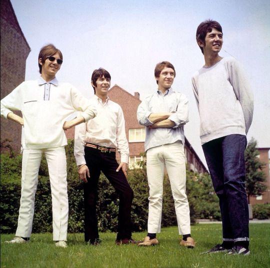 Steve Marriott, Ian Mclagan, Kenney Jones, and Ronnie Lane of the Small Faces, c. 1966