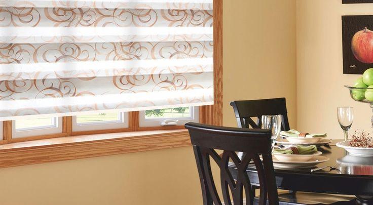 Zebra Shades - Awnings Pergolas Window Shades Blinds Toronto