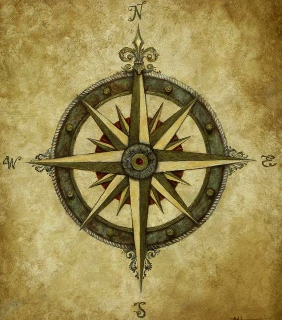 "Compass Tattoo maybe for a friend to go along with my anchor ""be the one the guide me but never hold me down"""