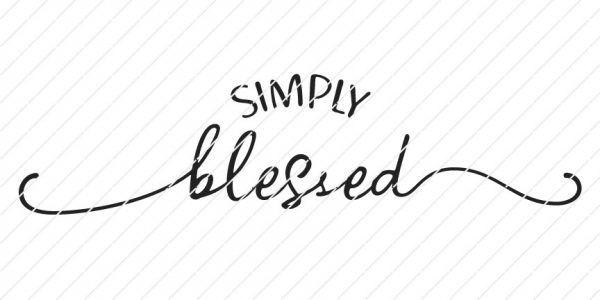 Simply Blessed Svg Origin Svg Art Blessed Printable Wall Printables Printable Wall Art