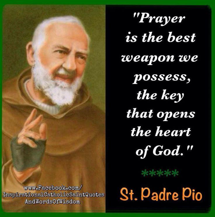 Padre Pio Quotes 202 Best Padre Pio Images On Pinterest  Catholic Saints Parents .