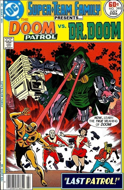 Super-Team Family: The Lost Issues!: The Doom Patrol Vs. Doctor Doom