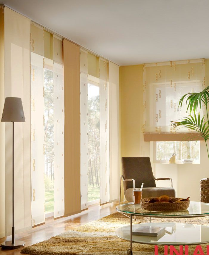 Unland Nature, Fensterideen, Vorhang, Gardinen und Sonnenschutz - curtains, contract fabrics, pleated blinds, roller blinds and more. Made in Germany