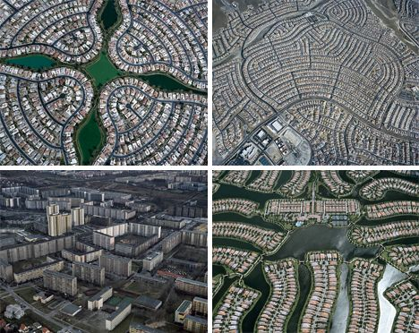 Sprawling Vision of the Past: American Suburbs From Above