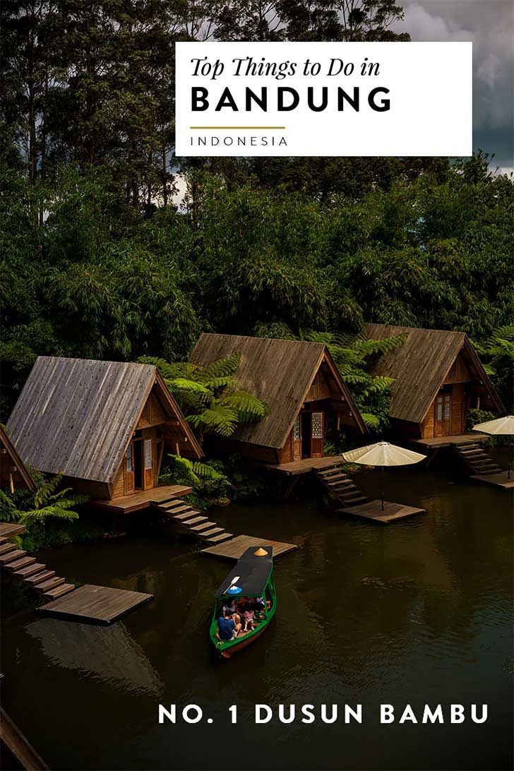 Visiting Bandung Indonesia? Here's my travel guide for must see sights, food and attractions. Number 1 on the list is Dusun Bambu!