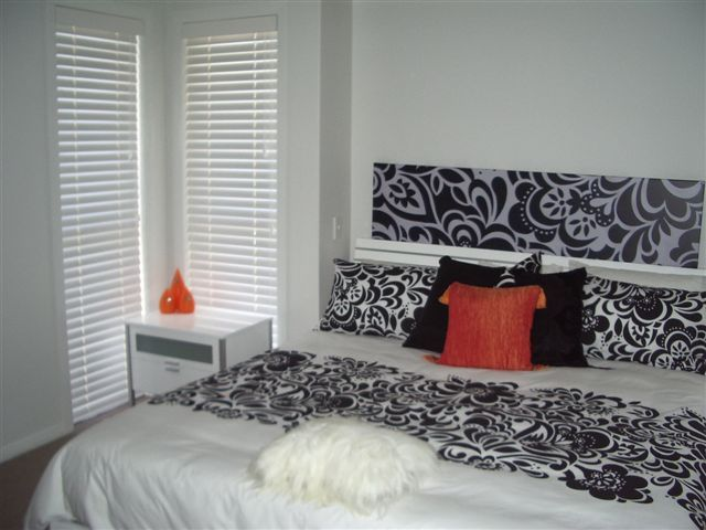 Venetian Blinds are great for bedrooms, allowing flexibility for light and air control.