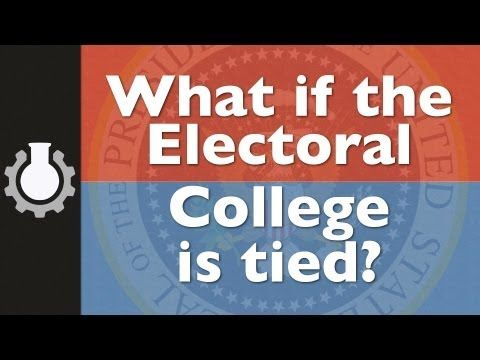 the electoral college....what happens if there is a tie