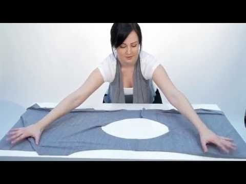 5 minute no sew vest. - YouTube