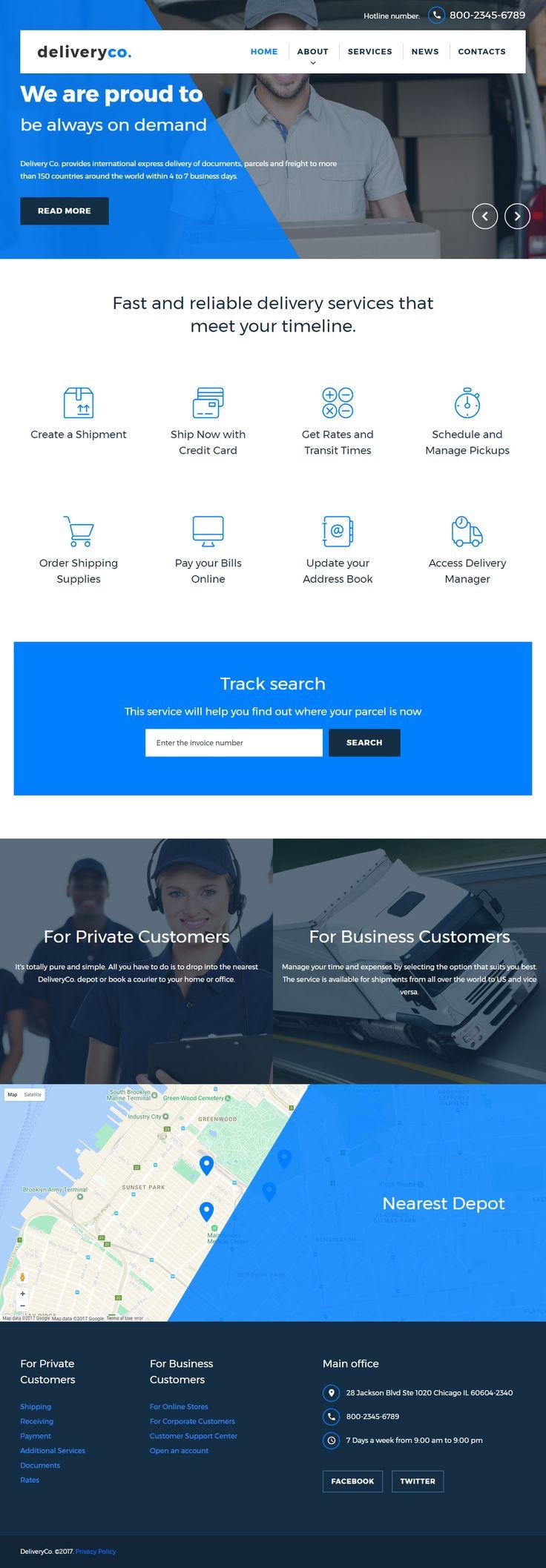 807 besten Responsive HTML5 Website Templates Bilder auf Pinterest ...