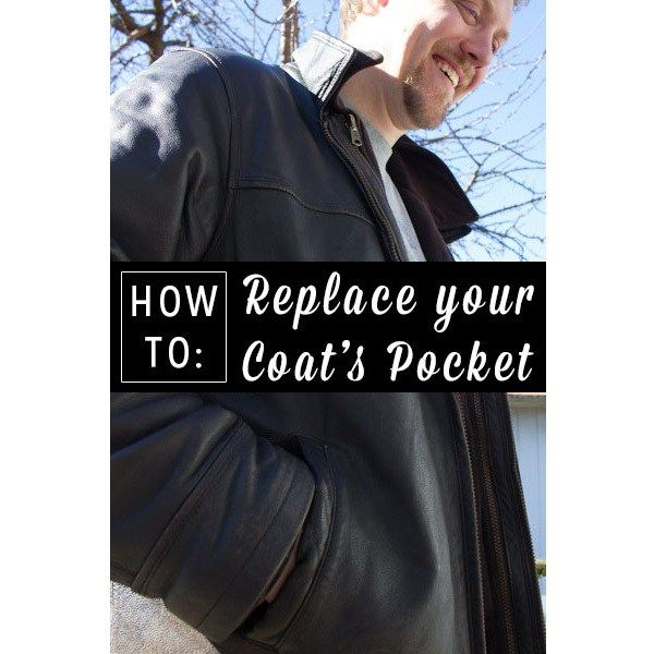 Didn't mend that coat pocket before you put it away last spring? Do it now!