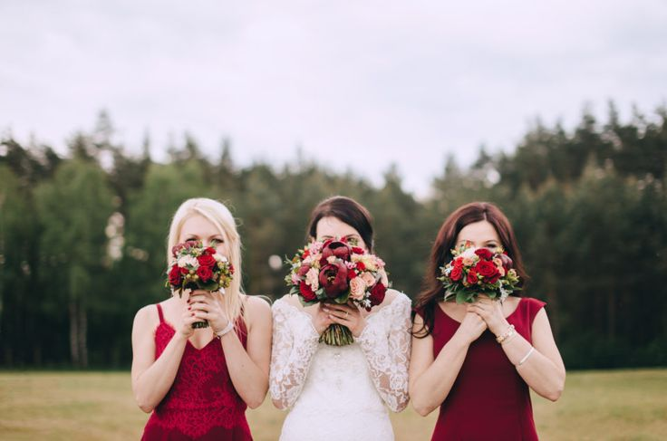 Wedding Studio Słoń: #wedding #realwedding #warsaw #polandwedding #brideandgroom #weddingdecorations #bride #bridesmaids #bouquet #marsala