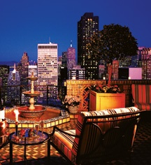You can't beat that view! The Fairmont Hotel, San Francisco.