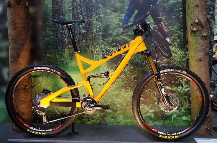 """The new Yeti SB75 with the new 27.5"""" wheels! #yeticycles #eurobike2013"""