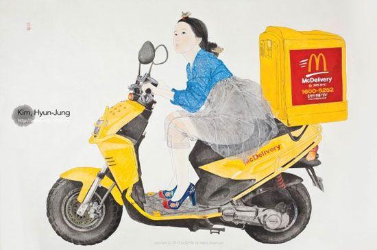 한국화가 김현정