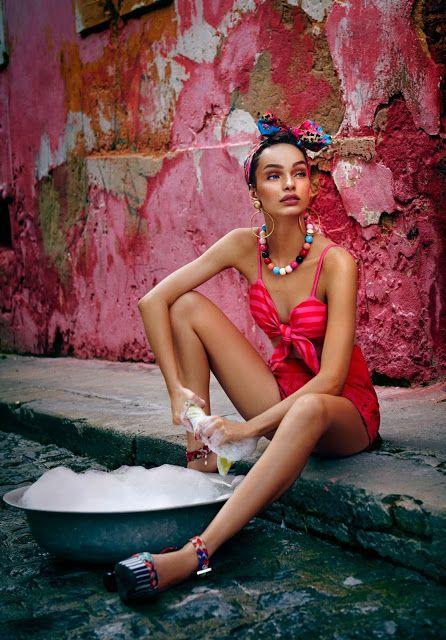 ELITE MODEL MANAGEMENT BARCELONA: Luma Grothe for Carlota Costa S/S 16