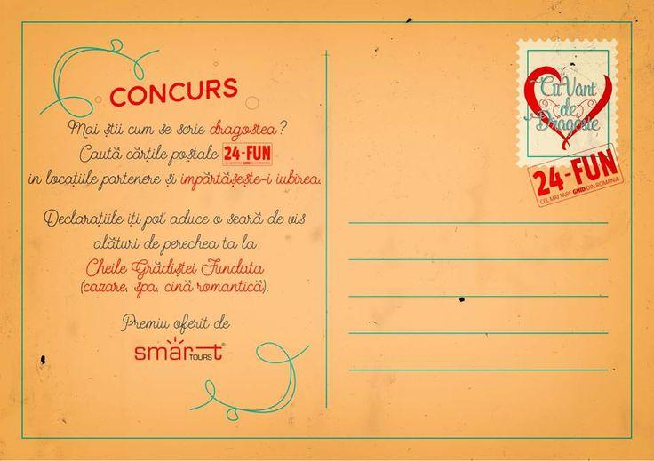 Concurs 24 fun,Brasov,  Mai sti cum se scrie dragostea?