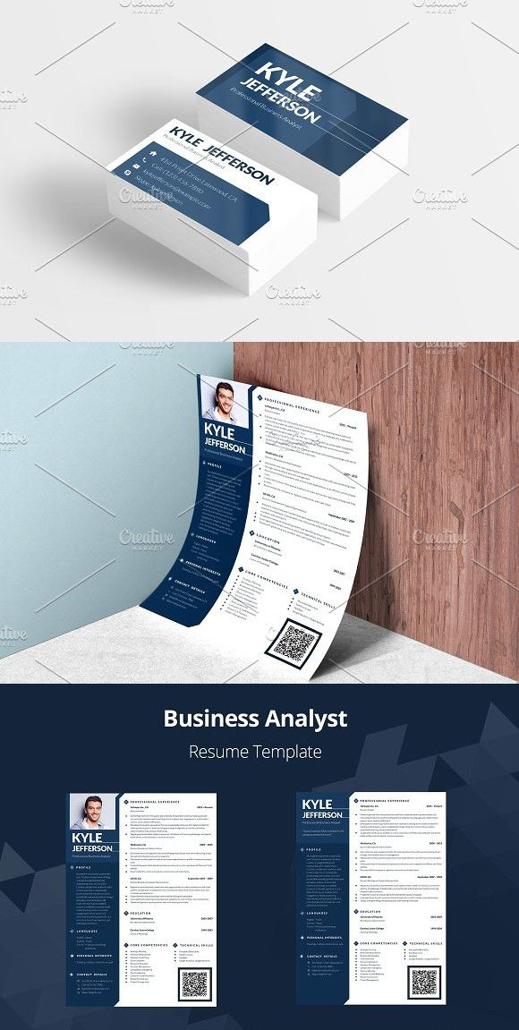 Editable Resume: Business Analyst #resume