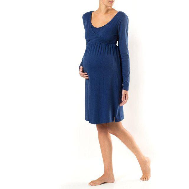 Chemise de nuit grossesse et allaitement COCOON