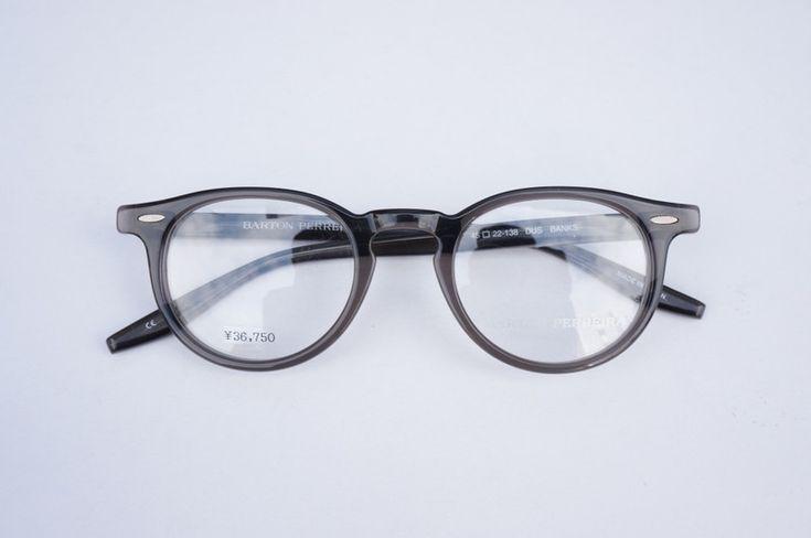 BARTON PERREIRA メガネ BANKS DUSK 45 | eyewear | optician | ポンメガネWEB