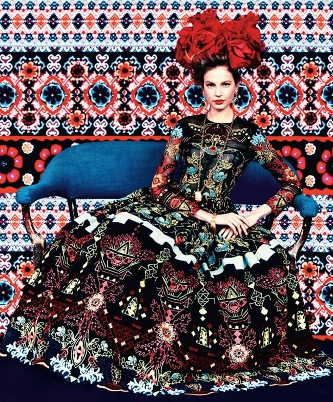Prints Of The Seasons, photography by Erik Madigan Heck for Harper's Bazaar - HUF Magazine