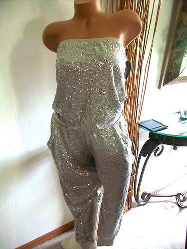 New Victoria's Secret Supermodel Bling Sequin Jumpsuit ...