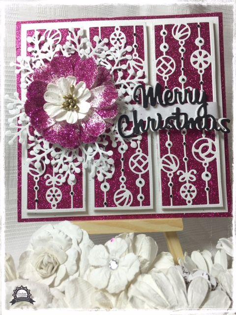 Artdeco Creations Brands: Merry Christmas Card by Anita Enright