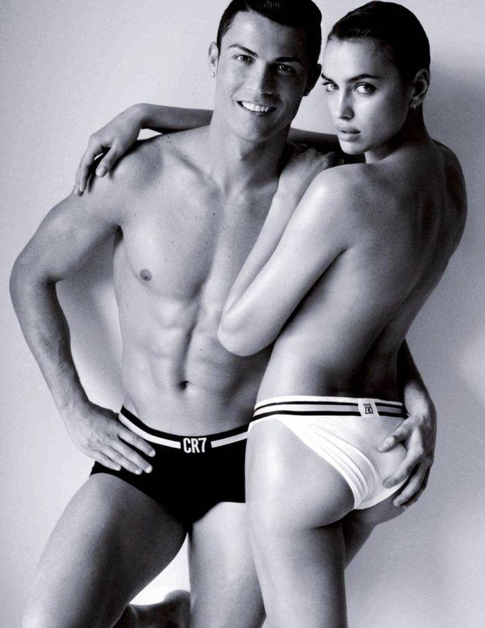 Irina Shayk And Cristiano Ronaldo - Vogue Magazine (Spain - June - 2014).