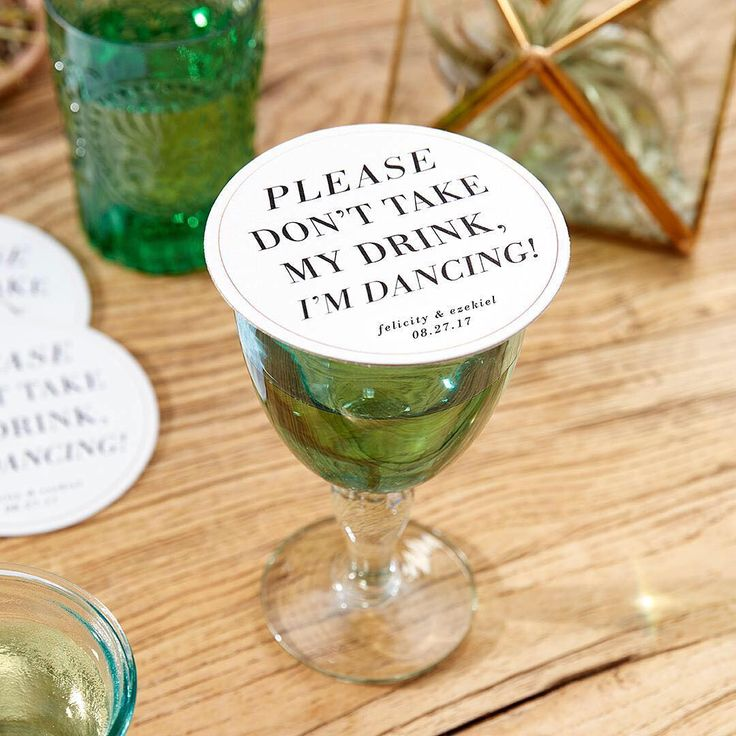 Coasters that are fun and functional to keep them dancing all night long