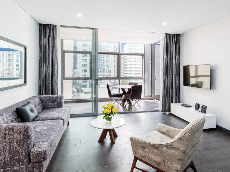 Modern Suite with 1 Bedroom #Chatswood #Sydney #Luxury #Accommodation #Meriton